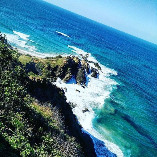 Amazing view Byronbay Lighthouse Australia Oz