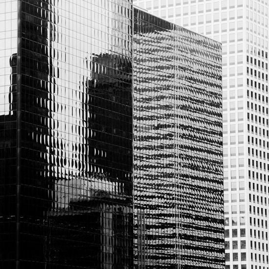 Close-up of skyscraper