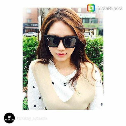 육룡이 나르샤 SBS 드라마 원경왕후 민다경 공승연 해쉬태그선글라스 HAHSTAG Sunglasses Eyes Dress Up Your Identity