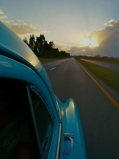 Sunset Cuban Cars Cuban Street Cuban Sunset Cloud - Sky Journey Travel Travel Destinations Car Oldtimer