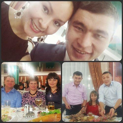 Свадьба Ильяс и Гульназ 08112014 ресторан  Достык коллеги Жаркын свадьба