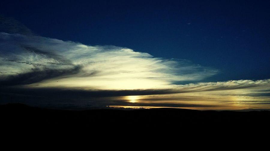 Pôr do sol na Serra do cipó Nature Sky Blue Beauty In Nature First Eyeem Photo