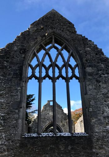We all need to take time and look up! Architecture Built Structure History Low Angle View Old Ruin Day Window Sky Building Exterior No People Ancient Arch Past Travel Destinations Outdoors Ancient Civilization Ireland