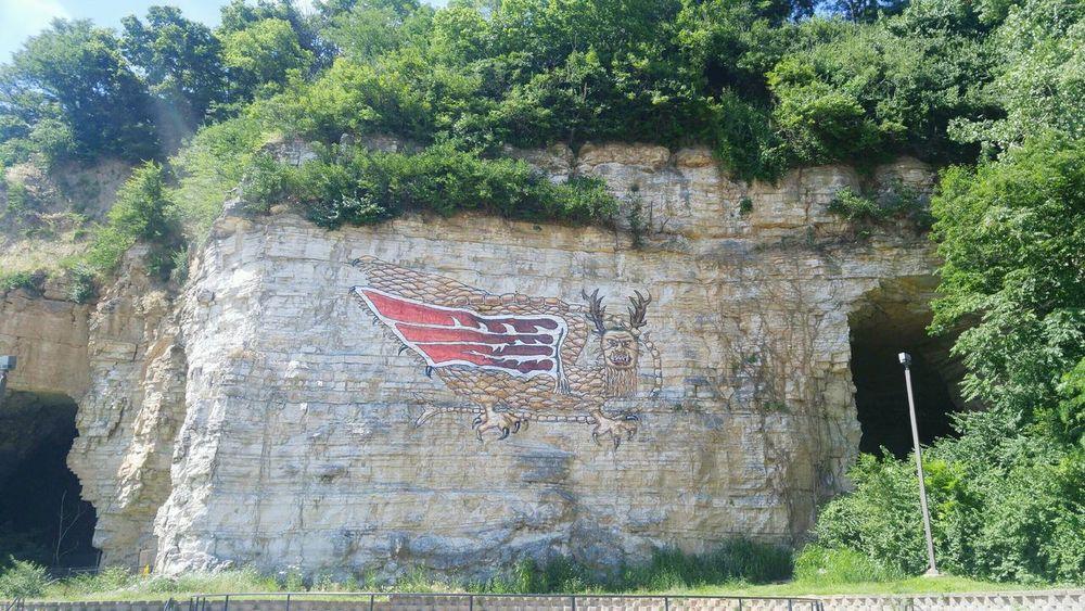 Feel The Journey PIASA The Legend Of Piasa Legend Alton Illinois