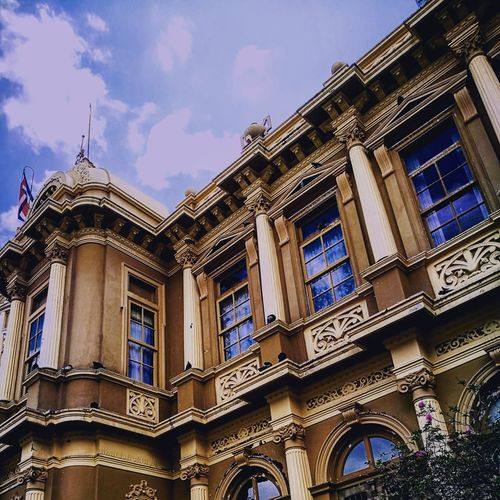 Architecture Travel Destinations Building Exterior Built Structure Sky Outdoors Low Angle View No People Dome Politics And Government Day City