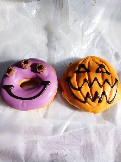 KrispyKreme Doughnuts Halloween Sweets Yummy Food