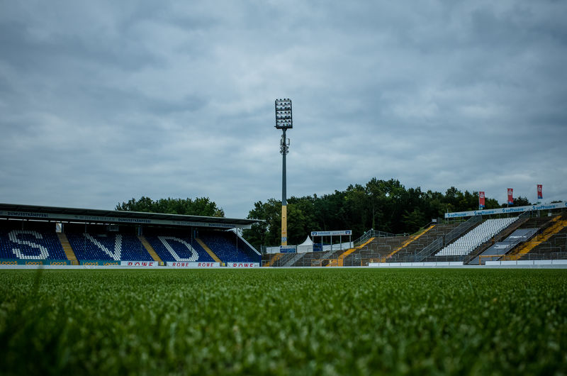 Darmstadt SV Darmstadt 98 Architecture Built Structure Böllenfalltor Floodlight Grass Lilien No People Outdoors Sport Stadium