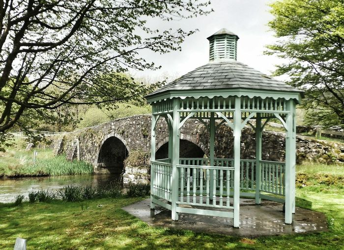 Bridge Water Pergola Dartmoor
