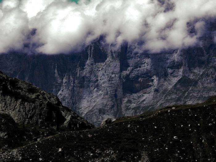 alpine area...
