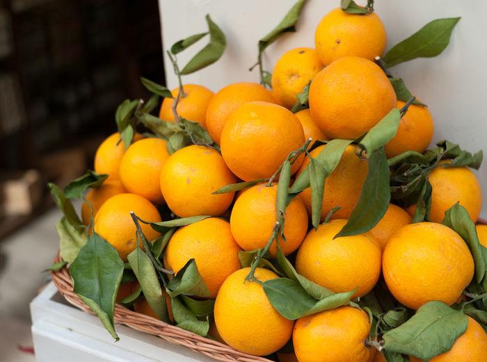 Fine oranges at