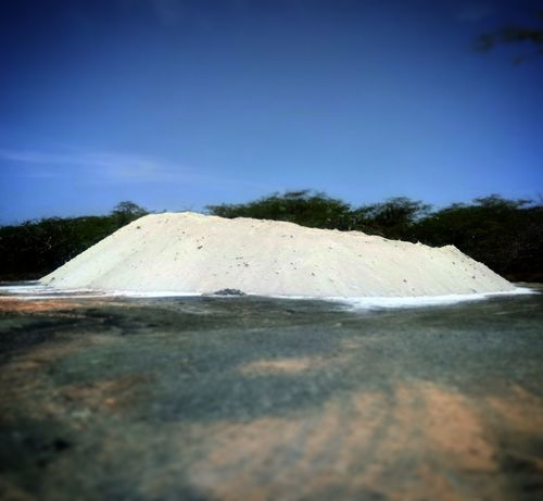 20,000 lbs of salt, Industrial Strength Earthwork in collaboration with the workers of the salt flats in cabo rojo, Puerto Rico, 2017, Landscape Clear Sky Sky Day Salt Flats Art Is Everywhere ArtWork Public Intervention Conceptual Investing In Quality Of Life Public Art Breathing Space Artoftheday Earthworks Art Heat - Temperature Blue Nature Scenics Beauty In Nature EyeEmNewHere The Week On EyeEm