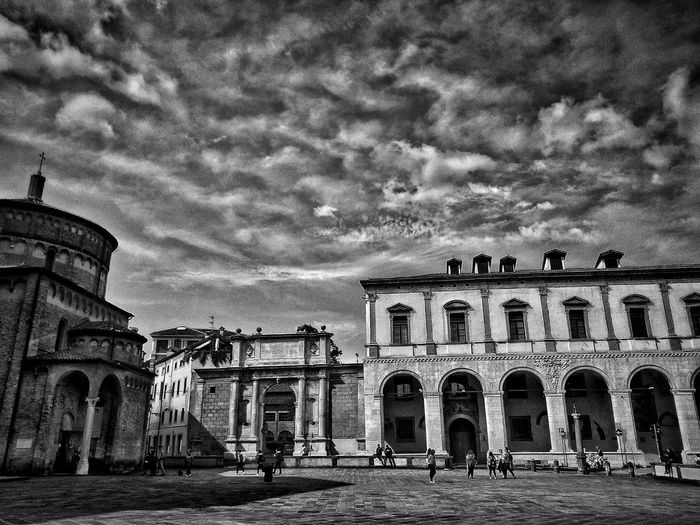 Padova, Aprile 2019 Blackandwhite City Sky And Clouds Church Palace Arch Architecture Building Exterior Built Structure
