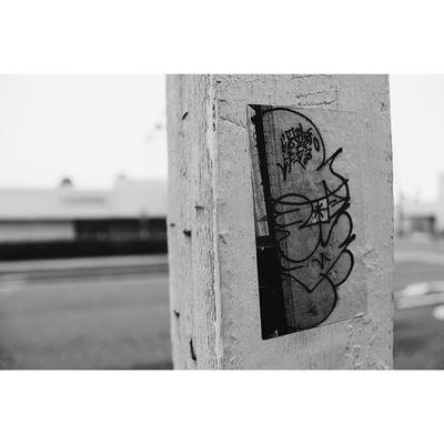 In The Streets. Graffiti Streetart Sticker Graff RandomCloseupVscoCamPotdMobbinDowntownMonday