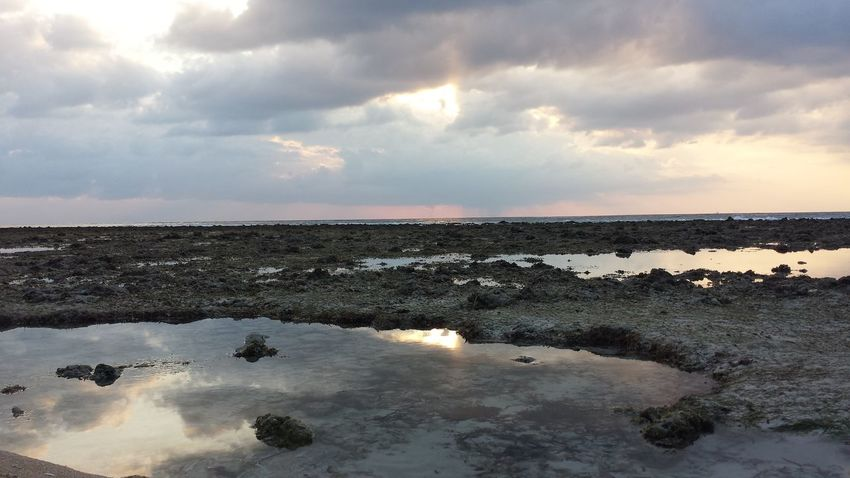 Beauty In Nature Cloud - Sky Day Horizon Over Water Idyllic Nature No People Outdoors Scenics Sea Sky Sunset Tranquil Scene Tranquility Water Gili Trawangan INDONESIA West Nusa Tenggara
