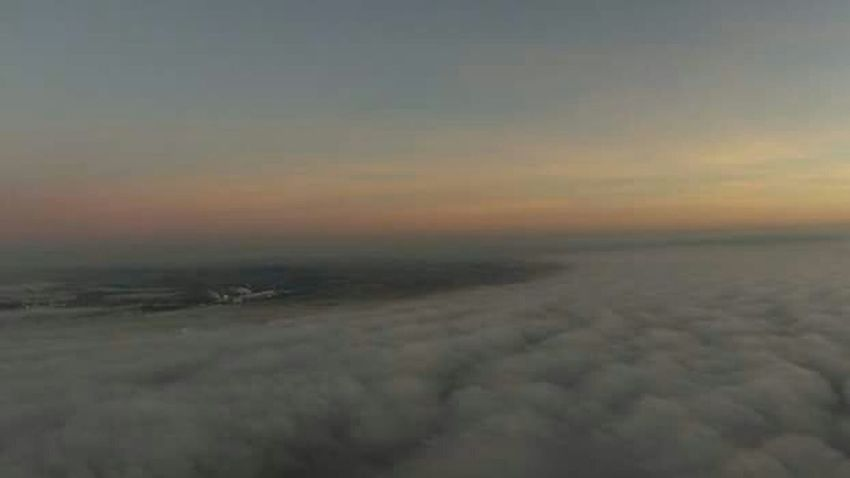 Dronephotography Fog Rollin' In Check This Out Hello World Sunset Creative Light And Shadow Scotland Above The Clouds Highlights From Aerial Shot Getting Creative