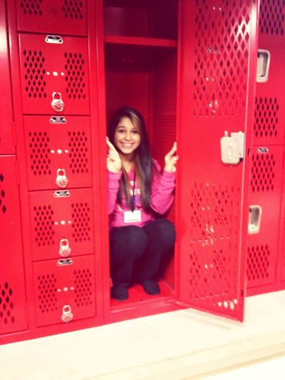 I fit in this locker you guise.