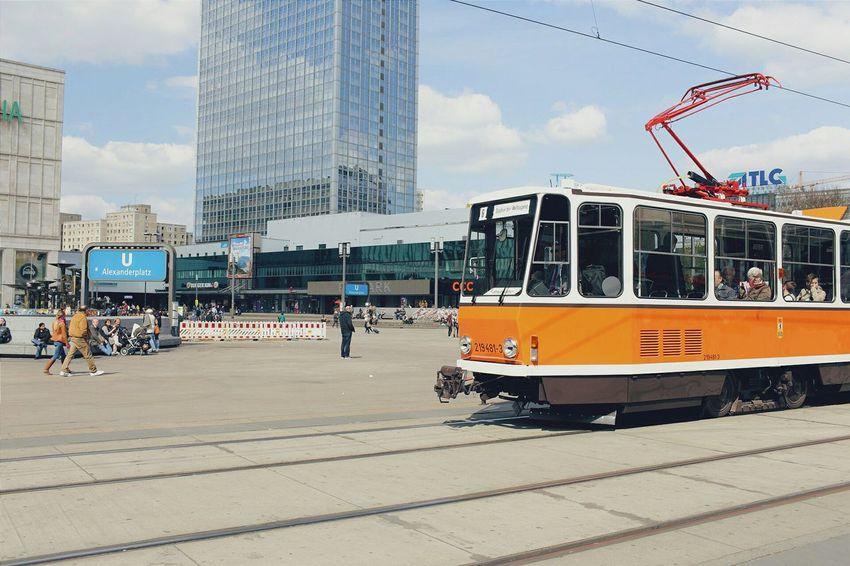 Historical tram round trip with Tatra KT4D Berlin Tram Tatra Kt4d Alexanderplatz Trainphotography Trainspotting