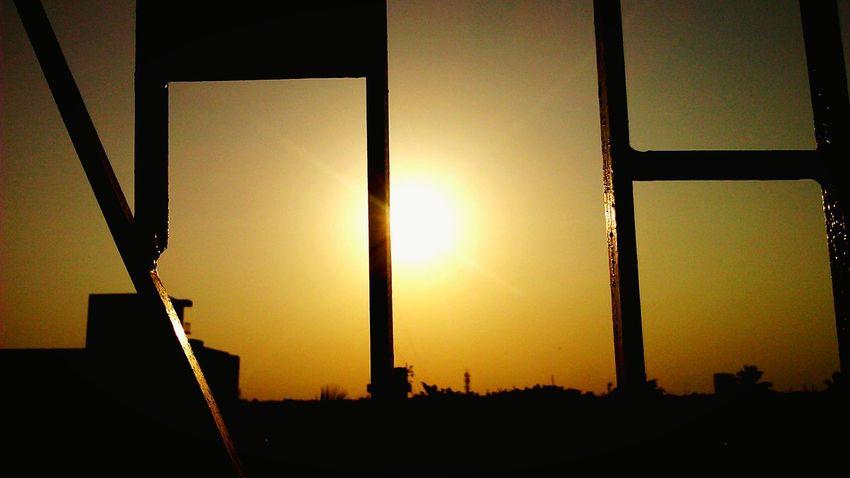 Sunset Golden Hour Golden Sunset Golden Light Golden View Light And Shadow Silhouette Sunlight, Shades And Shadows Sunrays