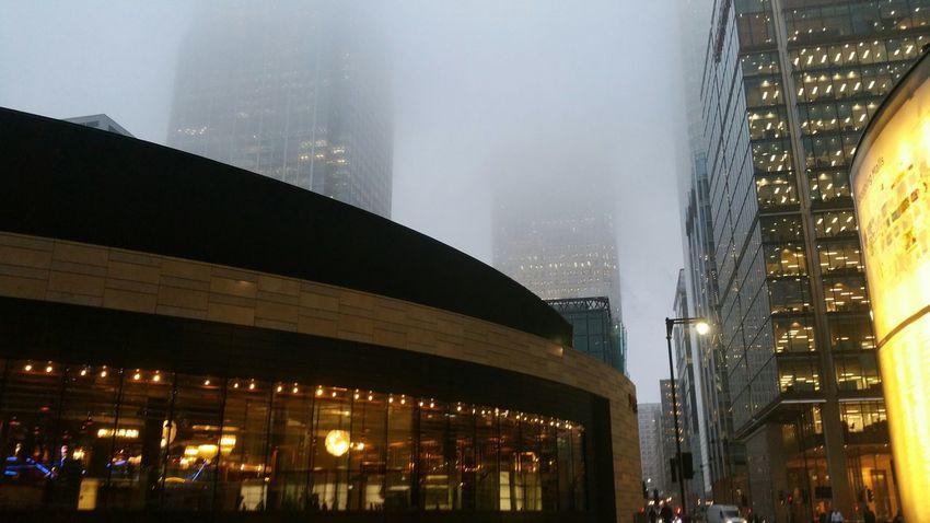 London Canarywharf Fog EarlGrey Winter First Eyeem Photo