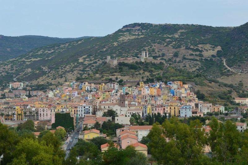 "Sardegna ""Bosa Marina""❤️ Architecture Building Exterior City Building Built Structure Residential District Mountain Travel Destinations"