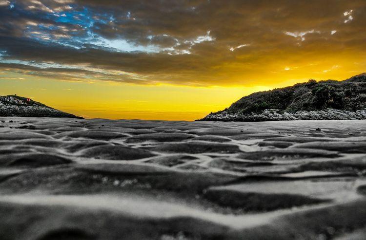 Sunset Borth Y Gest N.wales Porthmadog