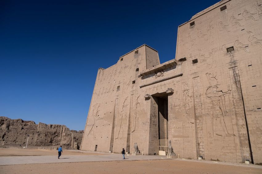Edfu Temple Egypt Temple Edfu Civilization Monament Horus Temple Architecture Phitograpghy