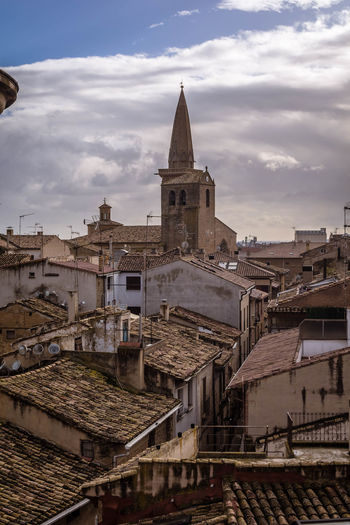 Olite Navarra EyeEmNewHere EyeEm Selects The Week On EyeEm Travel Destinations Business Finance And Industry Cityscape Architecture City Outdoors Sky No People Day