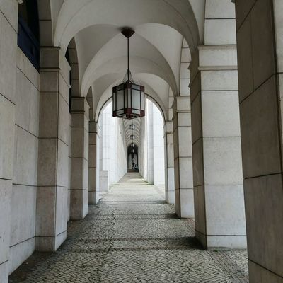 City Architectural Column Corridor History Arch Architecture Passageway Diminishing Perspective Arcade Archway The Way Forward Colonnade