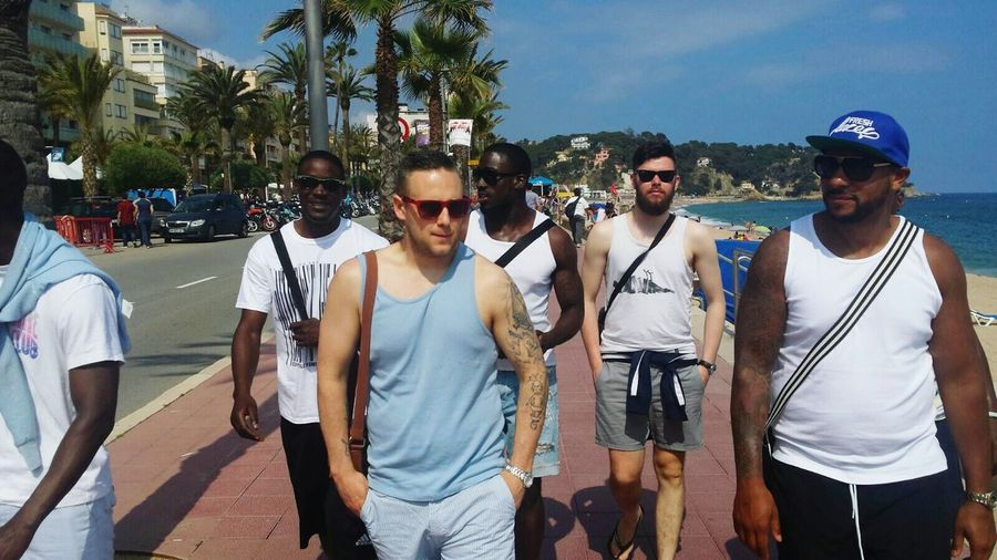 Last stroll in Lloret before we leave Spain ✈️🇪🇸 Barcelona Lloret Del Mar, España Beautifulview Vacations Summer Enjoying Life Friendship Football Tour BIFC Selfie✌ Self Portrait Togetherness Footballislife