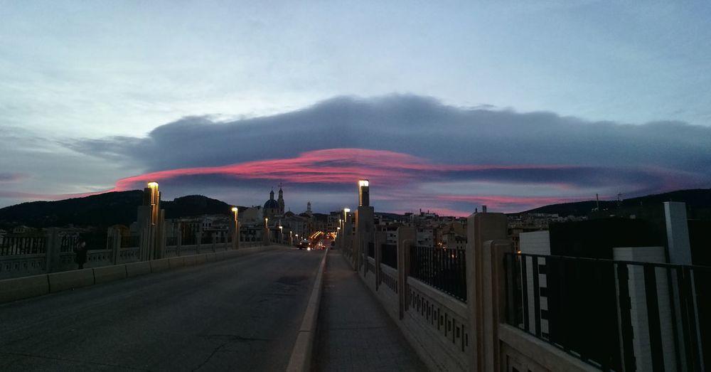 Amanecer Winter Alcoy Morning Light City City No People