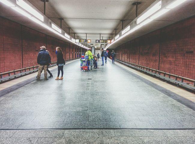 Nürnberg subway ? City Street People Geometry