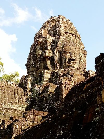 Bayon Temple, Cambodia History Ancient Ancient Civilization Asian Culture Buddhism Culture The Week on EyeEm Traditional Culture Unique Building Architecture Unique Architecture Building Exterior Built Structure Cambodia Angkor Bayon Temple Angkor, Cambodia Siemreap Siem Reap, Cambodia Ancient Temple Ancient Architecture Ancient Temple Architecture