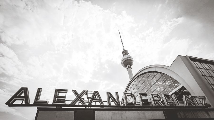 Alex Berlin Mitte Berlin Fernsehturm Alexanderplatz Architecture Built Structure Sky Cloud - Sky Building Exterior Communication Nature Low Angle View Travel Destinations Tower Tourism Day Tall - High City Travel No People Outdoors Building Spire  Office Building Exterior