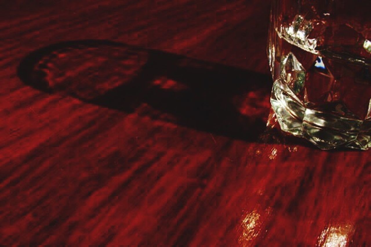 red, no people, food and drink, indoors, table, shot glass, alcohol, close-up, day, freshness
