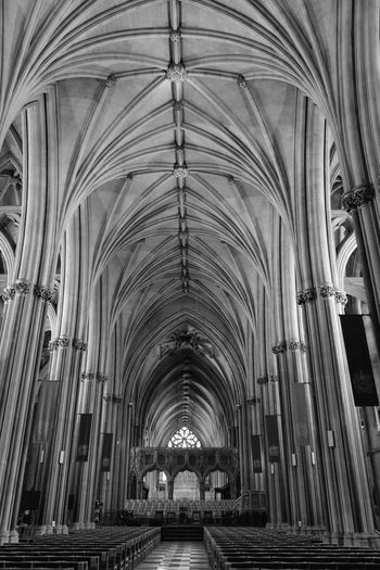 Cathedral Church Gothic Place Of Worship Stained Glass Classical Architecture Fujifilm Indoors  Travel Destinations