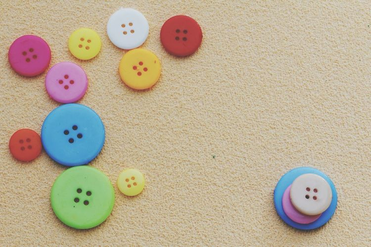Multi Colored No People Close-up Sand Buttons Colorful Fun Space For Copy Repeating Patterns Pattern Design Fashion Button Hole Abstract Abstract Photography Clothing Sewing Sewing Stuff Plastic Tailoring Accessory Circle Group Of Objects Arranged Objects Obsessivecompulsivedisorder