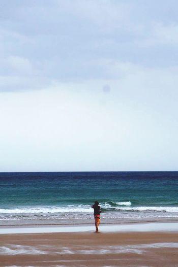 Oceanside Australia Sea And Sky Blue Sky Blue Wave Dayoff Holiday Travelaustralia Greatoceanroad Greatoceantour