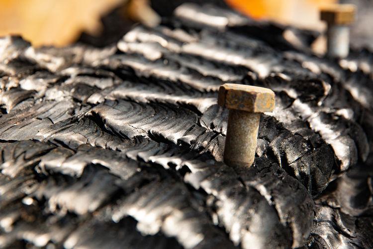 Brand auf Eiswerder Rust Burnt Eiswerder Fire Heat Metal No People Spandau