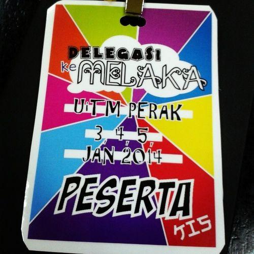 "Bismillahirhmanirahim ' Melaka Ana Datang ! "" ^_^ Delegasi JPK Seki UitmPerak utem almightybless"