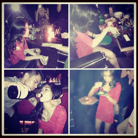 Birthday Party Latepost #smile #cute #like4like :) Love Thanks God 23th