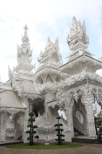 Thailand Thailand_allshots Thailandtravel Thailand Photos Thailand🇹🇭 Temple - Building Templephotography Buddhism Buddhist Temple BUDDHISM IS LOVE Chiang Mai | Thailand Chiangmai Chiang Mai Thailand Architecture Built Structure Building Exterior Building Religion Belief Sky Place Of Worship Spirituality Tree Day No People Plant Nature Outdoors Travel Destinations Cold Temperature
