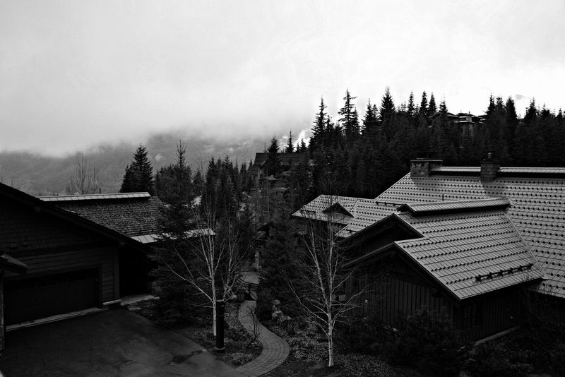 ominous odour Blackandwhite Photography Architecture_bw Architecture Cityscapes Whistler Sony Images A7s Mountains Landscape_photography Fog