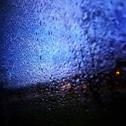 Window Water Drops MyPhotography Blue Sky Home Water