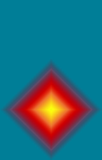 Close-up of illuminated light against blue background