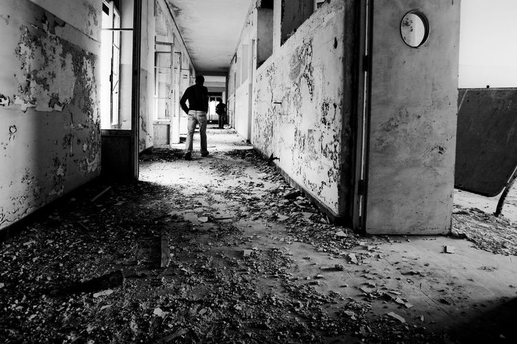 Ex Ospedale Rocco La Russa (abandoned) Dark Forgotten Gothic Hospital Ospedale Rocco La Russa Sicily Trapani Abandoned Damaged Decommissioned Deserted Dreary Erice Gloomy Indoor Inside Italy Lock Oblivion Oblivion Of Being Old Hospital Pigeons Rusty Tuberculosis