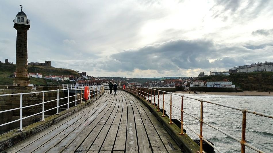 Outdoors Travel Destinations Walking Around Whitby North Yorkshire Whitby Whitby View Walking Around Taking Pictures Landscape Whitby Harbour Whitby Pier Bridge - Man Made Structure