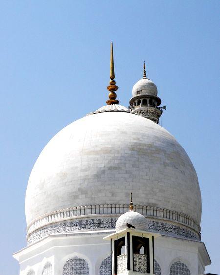 The Architect - 2016 EyeEm Awards Kashmirdiaries Hazratbal White Domes Azure Sky Aerie Eagles Rest Srinagar