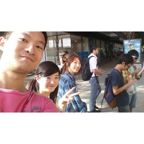 This is my classmates. Yumeko & Marina They r all come fron JP. 夢子 麻理奈