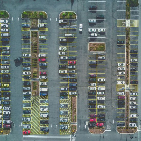 The Secret Spaces Walmart parking lot Day Outdoors Large Group Of Objects Building Exterior No People Built Structure Road Architecture City Network Server The Architect - 2017 EyeEm Awards