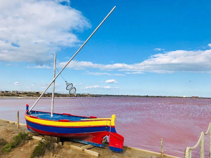 Boat Sky Water
